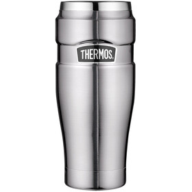 Thermos King Drinkfles 470ml zilver